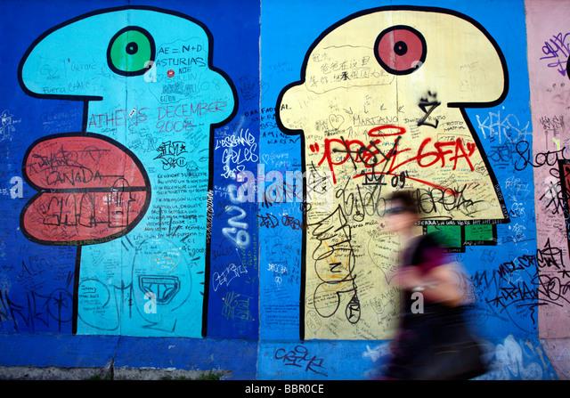 Berlin Wall Germany - Stock Image