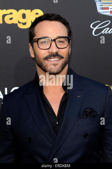 Jeremy Piven at the Los Angeles premiere of 'Entourage' held at the Regency Village Theatre in Westwood, - Stock Image