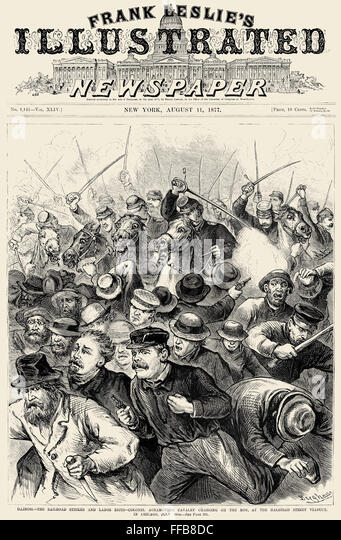 great railway strike 1877 essay