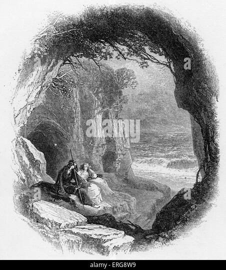 the use of contrasts in act one of the tempest a play by william shakespeare