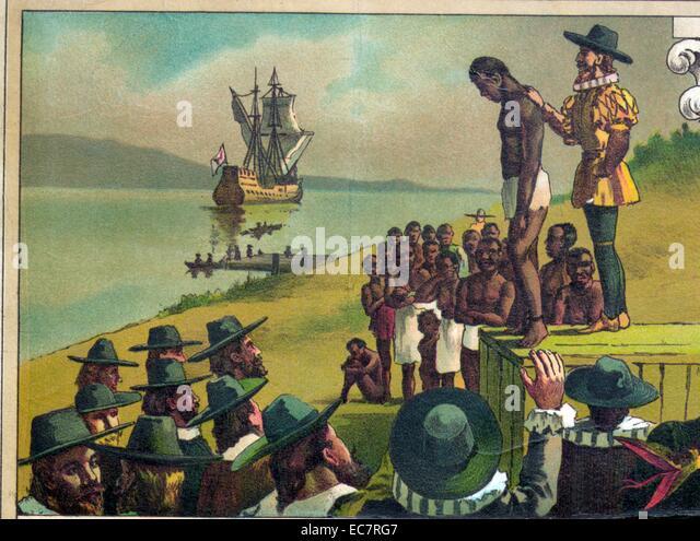 white slavery in colonial america