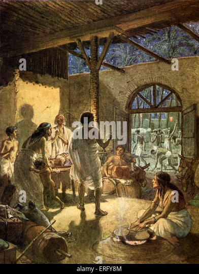 plague on the firstborn from exodus Moses warned pharaoh that the firstborn everyone who did not heed the warning was smitten by the plague (exodus the study of moses and the 10 plagues.