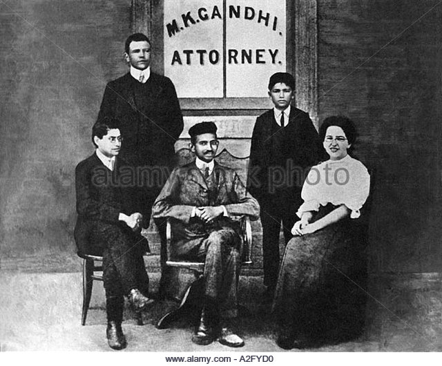 black history of gandhi family