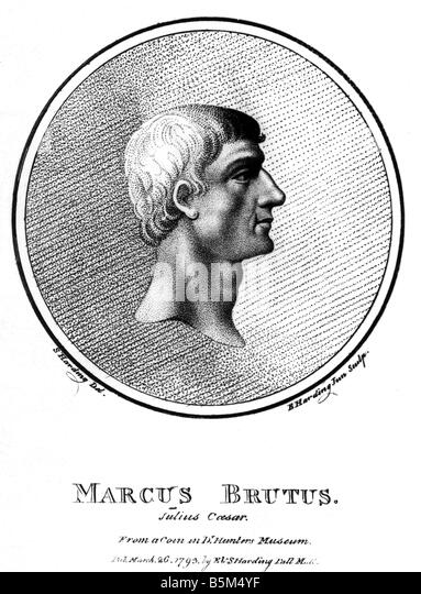 marcus junius brutus notes Marcus junius brutus gold aureus & silver denarius bare head of brutus - assassination of caesar rome was entering yet another civil war in the aftermath of.