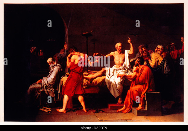 jacque louis david and the death of socrates