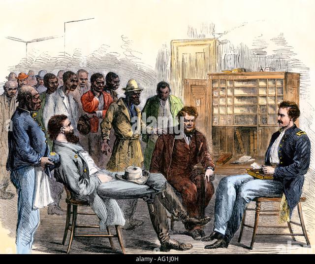 emancipation and the freedmens bureau essay