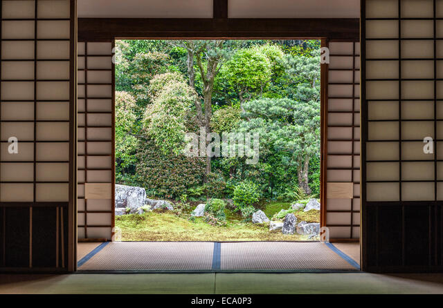 Shoji Sliding Door Stock Photos