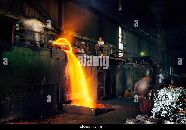 metallurgy oxygen and ore