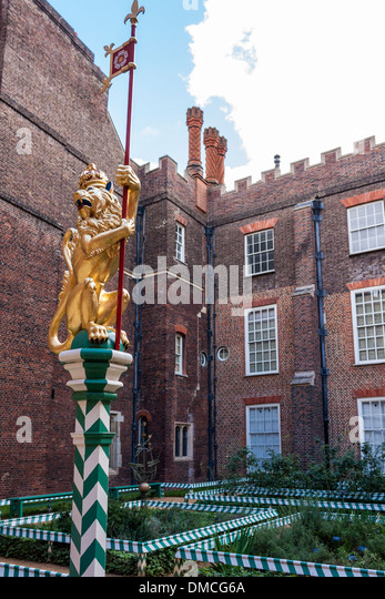 the-golden-lion-of-england-sits-atop-a-p