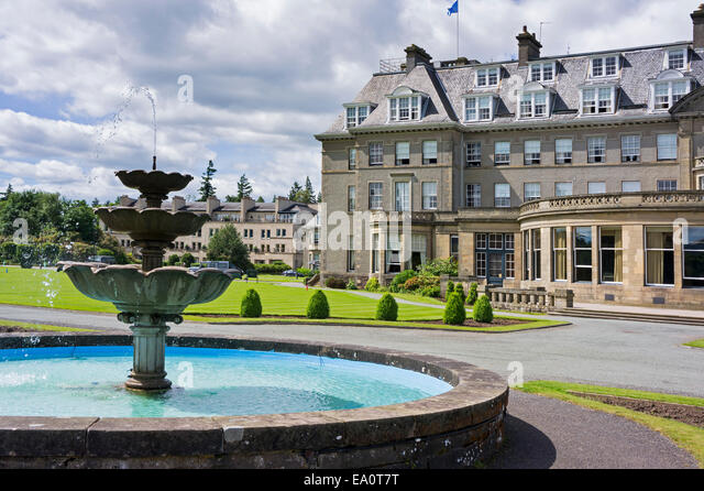Gleneagles golf Hotel, Perthsire, Scotland UK - Stock Image