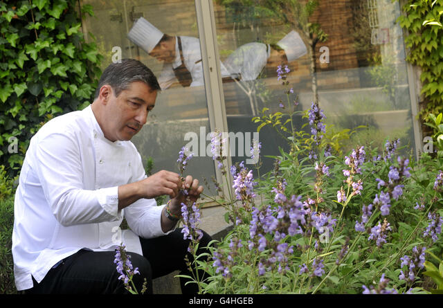 Joan Roca , Chef at El Celler de Can Roca restaurant in Girona, Catalonia, Spain. - Stock Image
