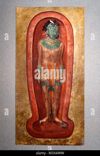 painting-of-mayan-lord-pakal-or-pacal-in