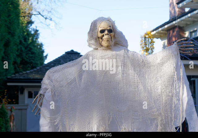 a-halloween-ghost-decoration-with-a-huma
