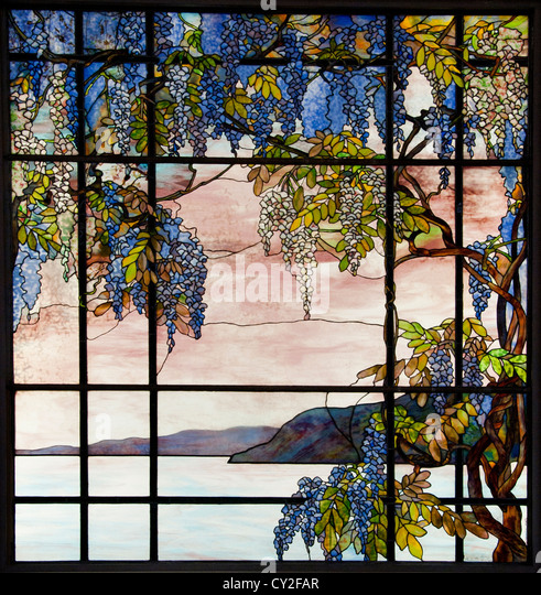 Laurelton Hall Oyster Bay New York Designed by Louis Comfort Tiffany 1905 United States of America American Fravrile - Stock Image