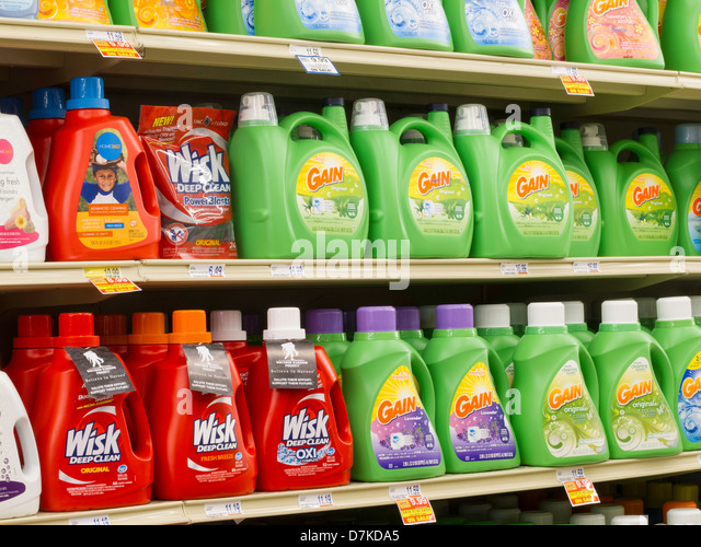 gain laundry detergent marketing
