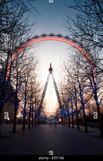 London Eye, London, UK - Stock Image