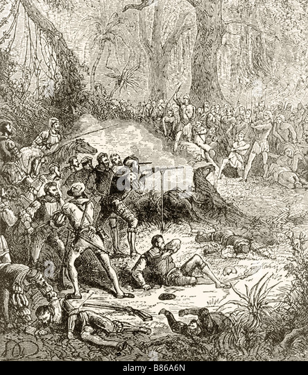 an analysis of the skirmish by spanish conquistadors in the incan empire Spanish conquest of the inca civilization the inca empire ended shortly after the and daring of the spanish conquistadors in the early stage of the conflict.