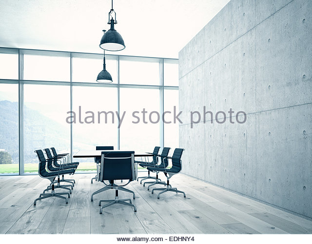 Conference room interior - Stock Image