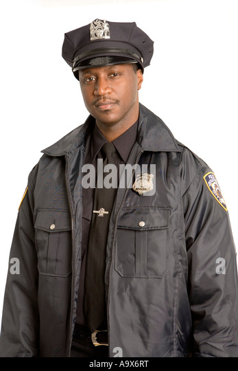 American police officer hat