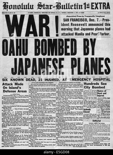 an analysis of the japanese led attack on pearl harbor in december 1941