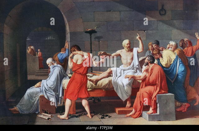 jacque louis david and the death of socrates How can the answer be improved.
