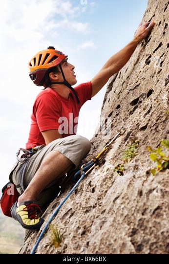 Climbing - Stock Image