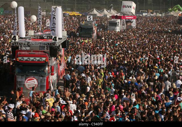 Stampede crowd