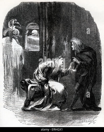 an analysis of hamlet and gertrudes relationship in hamlet by william shakespeare Polonius was hiding behind a tapestry in gertrude's room, spying on hamlet and gertrude as hamlet enters the room, gertrude was frightened that she yelled for help polonius echoed her cry for help.