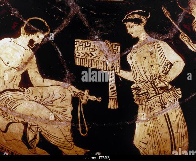 Odyssey And Goddess Calypso Odysseus Was A Legendary Hero In Greek Mythology King Of The