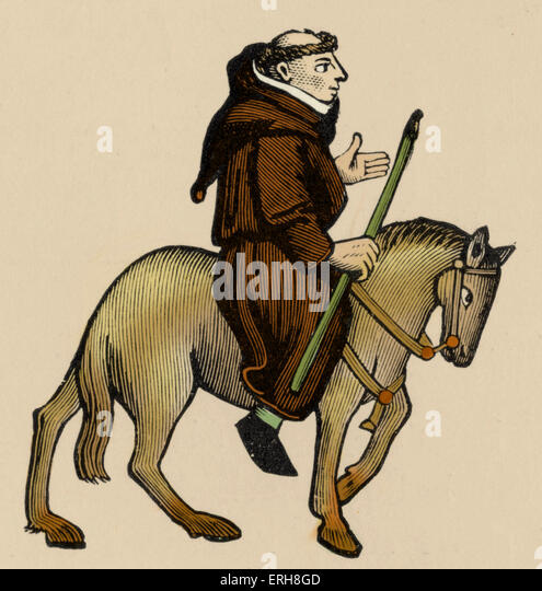 the depiction of the friar in canterbury tales by geoffrey chaucer