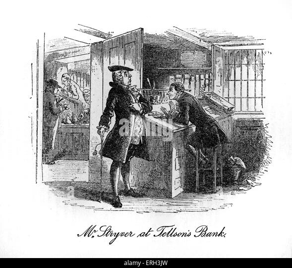 a character sketch of tellsons bank from a tale of two cities by dickens