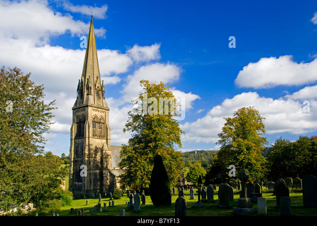 Edensor church wedding