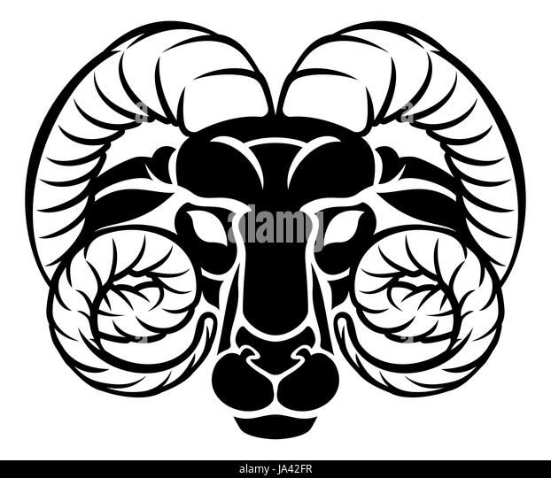 Aries ram symbol