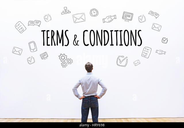 online agreement stock photos