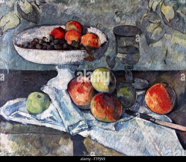 an analysis of still life with a curtain a post impressionistic painting by paul cezanne Post-impressionist french painter paul cézanne is best known for his incredibly varied painting style, which greatly influenced 20th century abstract art learn more about his life and career at biographycom.
