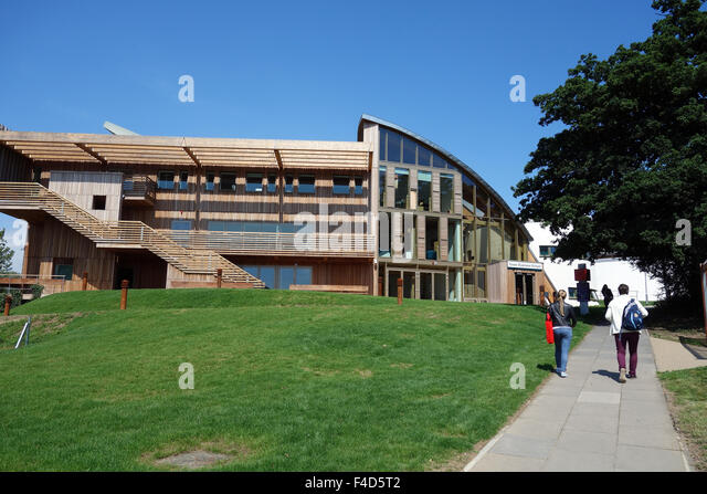 Essex Business School, University of Essex, Colchester campus - Stock Image