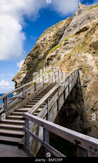 a-stairway-at-tintagel-in-cornwall-engla