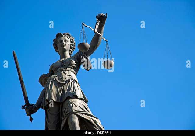 RoyaltyFree RF Scales Of Justice Clipart Illustrations