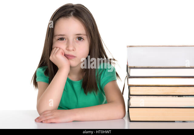 school-girl-sitting-by-the-stack-of-book