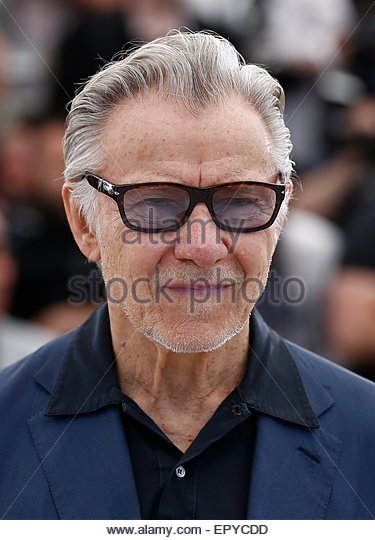 epa04757836 US actor Harvey Keitel poses during the photocall for 'Youth' at the 68th annual Cannes Film - Stock Image