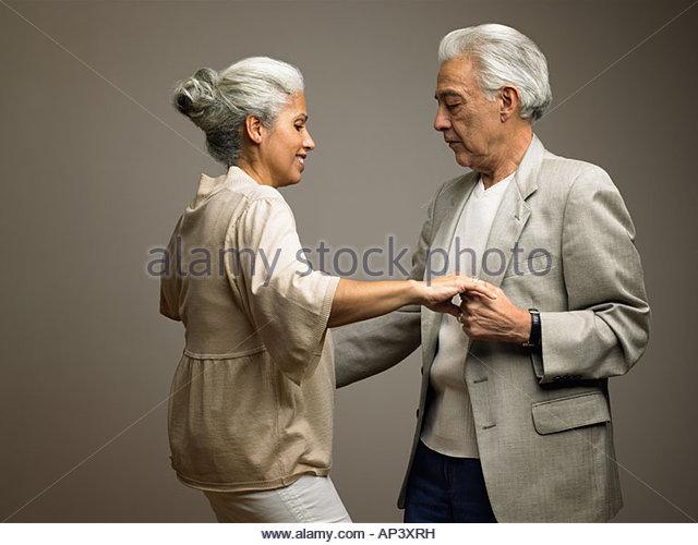 Couple dancing - Stock Image