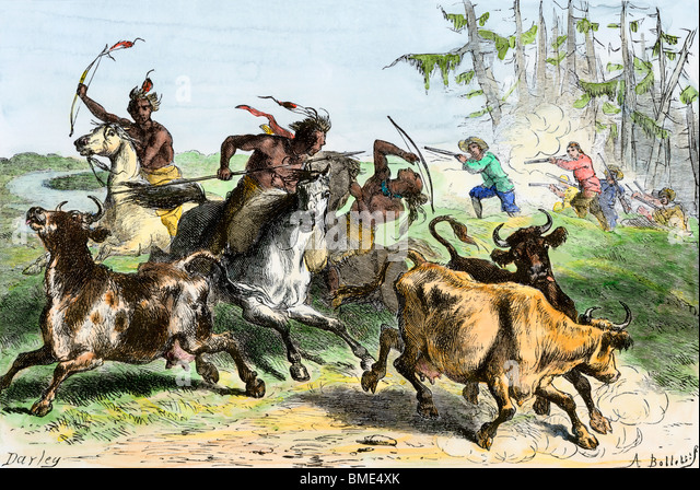 native-americans-driving-off-settlers-ca
