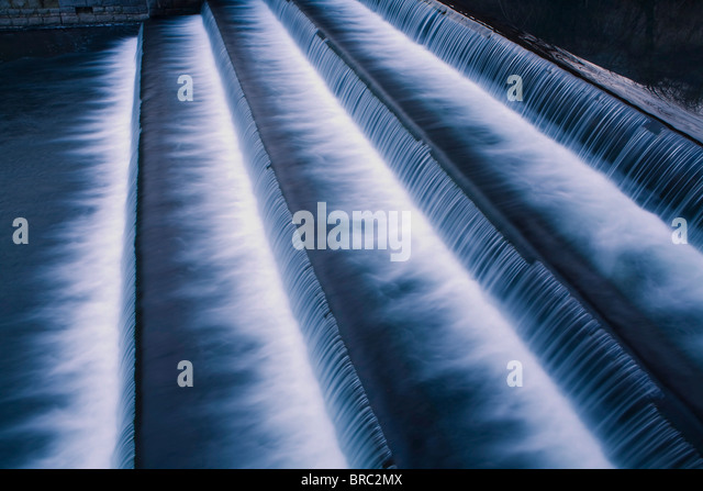 waterfall cascade - Stock Image