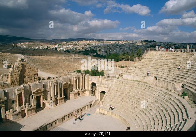 ancient theatres in jerash essay