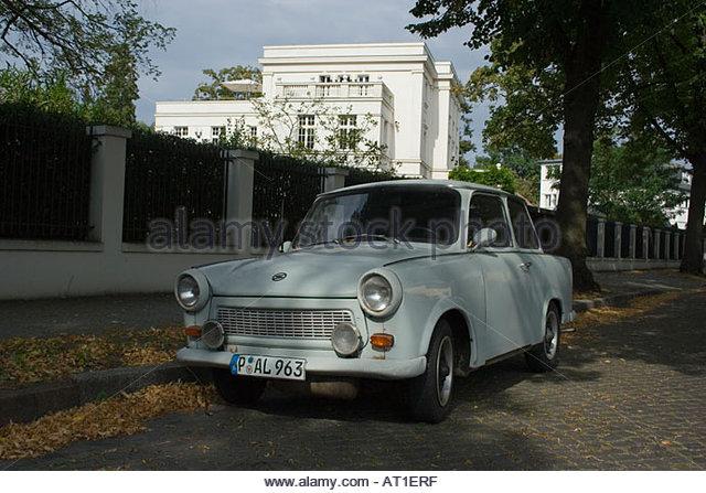 photo of Wolfgang Joop Trabant - car