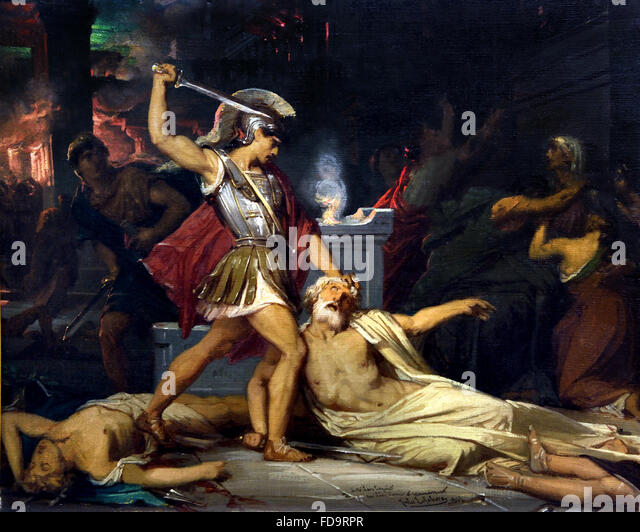 the concept of the death of achilles Since this elaboration is bracketed, before and after, by a description of how and why achilles died, the inference is that the death of achilles had something to do with the quarrel between apollo on one side, hera and athena on the other.