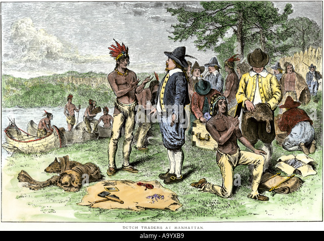 native americans and european colonists
