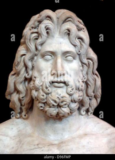 Greek god zeus cartoon vector cartoondealercom #6850385