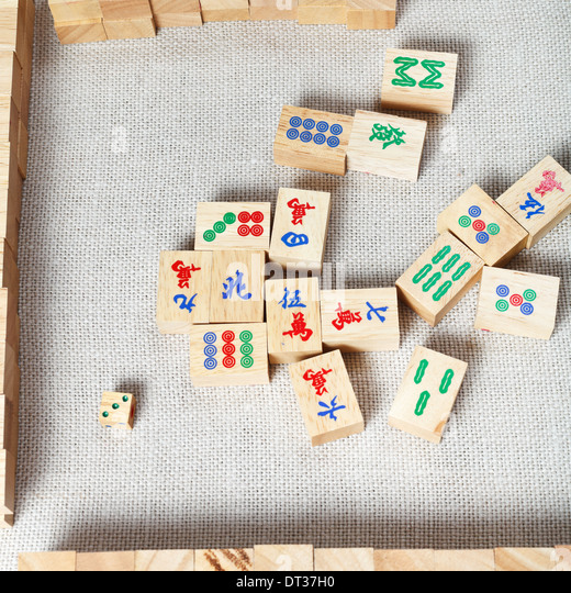 Mahjong game board