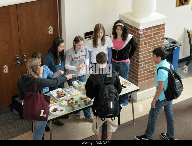 High school bake sale